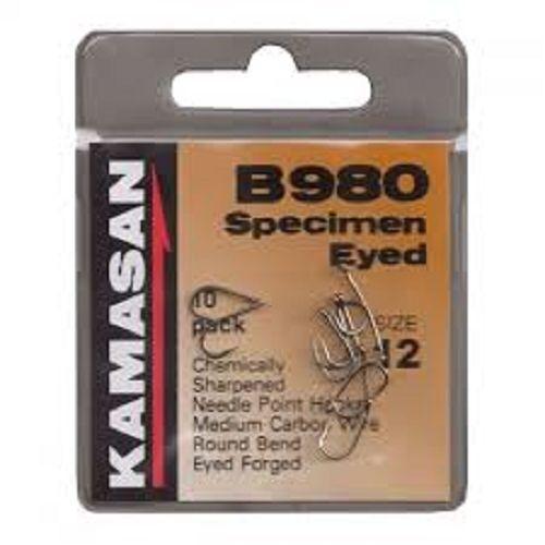 Kamasan Haken B980 Muster mit Augen Stacheldraht Haken