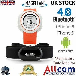 Magellan Echo Fitness Sport Orologio Cardiofrequenzimetro GRIGIO per iPhone e Android