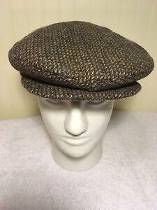 Young-An-Newsboy-Cap-Cabbie-Hat-Medium-Wool-Tweed-Ear-Warmer