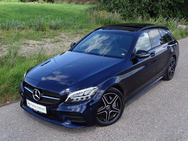 Mercedes C220 d 2,0 AMG Line stc. aut. - billede 1