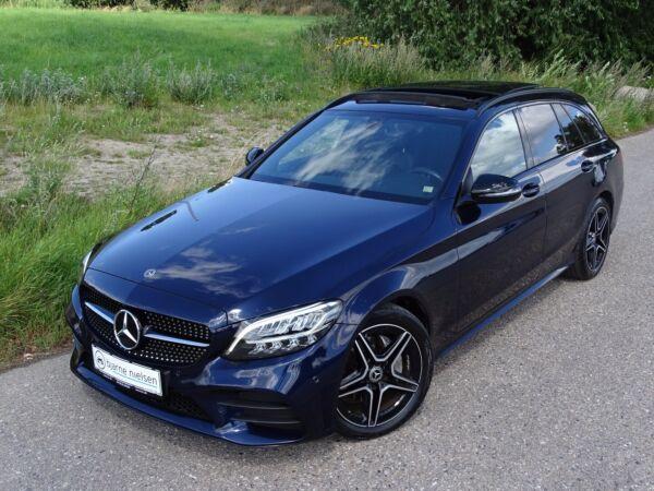 Mercedes C220 d 2,0 AMG Line stc. aut. billede 1