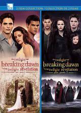 Twilight: Breaking Dawn Pt1/Pt2  DVD NEW
