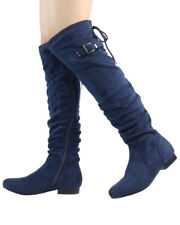974c3cd3967c DREAM PAIRS Women s New Casual Over The Knee Pull On Slouchy Boots(Wide-Calf