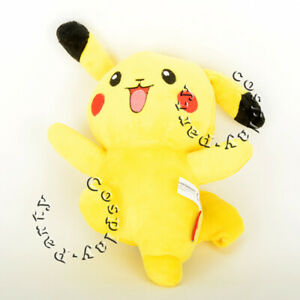 Pokemon-Pikachu-10-5-034-Collectible-Figures-Soft-Cute-Doll-Plush-Toy-Kid-Gift