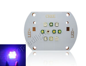 Epileds UV Led Module Chip Light 30-31V 350-600mA CREE XT-E Royal Blue XP-E
