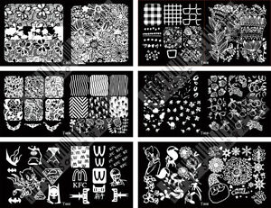 Nail-Art-Stamp-Stamping-Image-Template-Plate-Y-Series-Y001-006-NEW