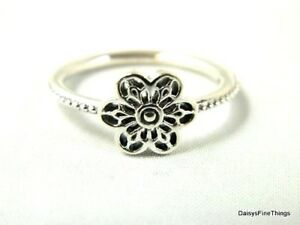 565fbb1af NEW/TAGS AUTHENTIC PANDORA RING FLORAL DAISY LACE #190992 MULTIPLE ...