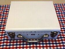 Custom White Metal Storage Box With Combination Lock