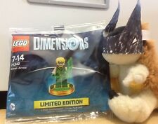 rare LEGO DIMENSIONS character Limited Edition GREEN ARROW DC Comics PACK 71342