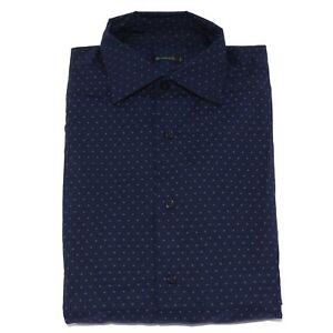 1707X-camicia-uomo-BROUBACK-blue-polka-dots-cotton-shirt-man