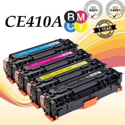 4P For HP LaserJet Pro 300 M375 400 M451 M476nw MFP Color Toner CE410A 305A ink