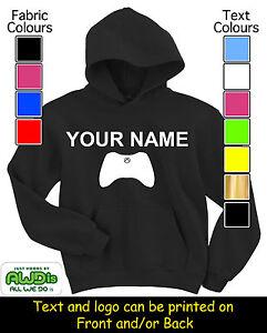 PERSONALISED-XBOX-GAME-CONTROLLER-HOODIE-HOODIES-GREAT-KIDS-GIFT-amp-NAMED