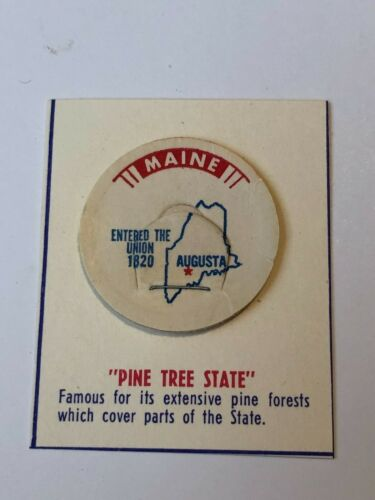 Maine Collectible State Milk Bottle Cap
