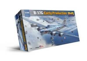 HK Models 1/48 B-17G Early Production Model Kit - 01F001