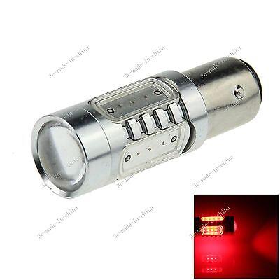 1X Red 1157 BAY15D 5 COB LED Brake Turn Signal Rear Light Bulb Lamp 12V-24V E024