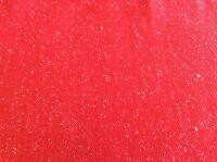 Tomato With White Flecks Poly Knit-65 Inch Wide- 1 Yard