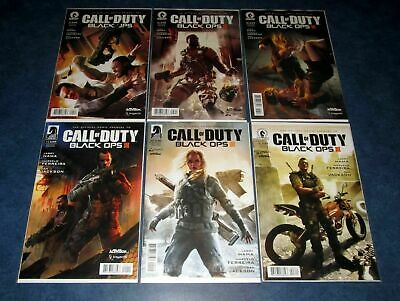 Issue Set #1 2 3 4 5 6 comic DH 1st print lot BLACK OPS III 6 CALL OF DUTY