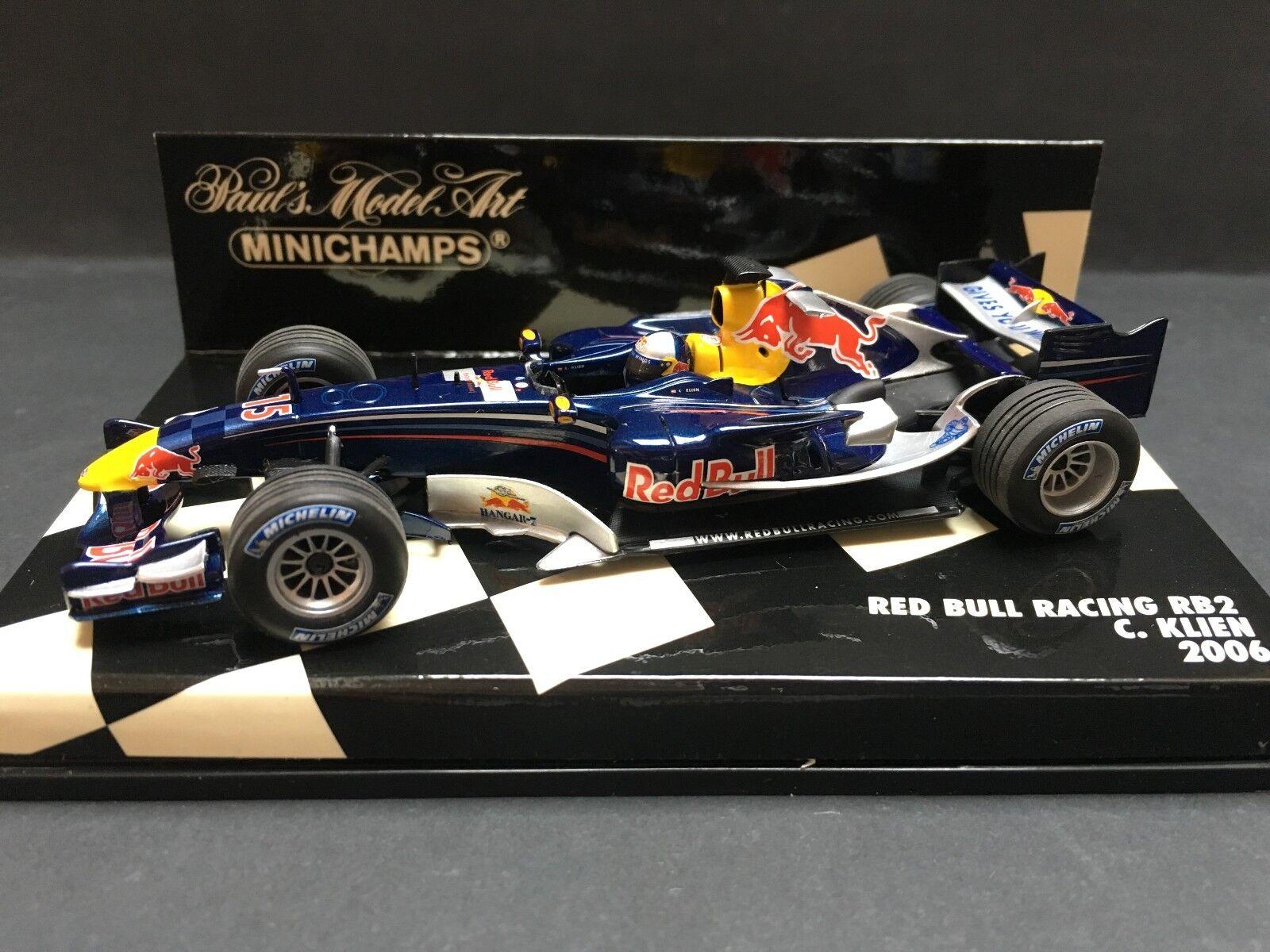 Minichamps - Christian Klien - Red Bull - RB2 - 2006 -1:43 - Rare