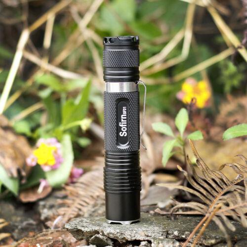 New Sofirn SF31 Mini Powerful Flashlight 18650 1000LM 5 mode LED Camping Cycling