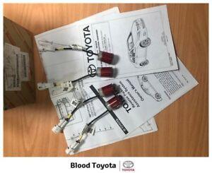 Genuine-ZRE152-Corolla-Sedan-Reverse-Parking-Sensors-Mar-07-Nov-13-Wildfire-Red
