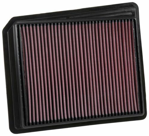 K/&N Replacement Panel Air Filter for Nissan Titan 2017-2019 Models # 33-5062