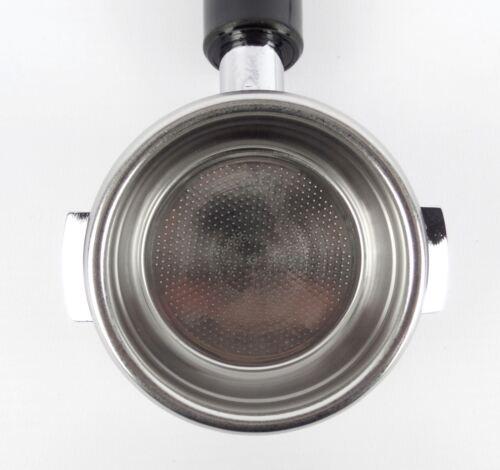 Bodenloser Siebträger für CIMBALI-Espressomaschinen 21g Sieb 3 Tassen