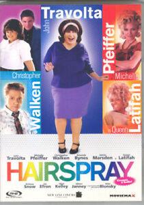 DVD-HAIRSPRAY-John-Travolta-Michelle-Pfeiffer-Film-Musicale-Commedia-Cinema