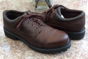 Lug13m Timberland 80500 Randonnée Marche Marron Cuir Oxford Euc En Décontracté Hommes Chaussures 44qRxO