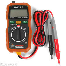 HYELEC Digital Multimetro Appiglio AC DC Voltmetro Electrical TESTER +Luce a LED