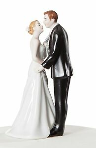 Tie(ing) The Knot Cute Romantic Couple Wedding Cake Topper