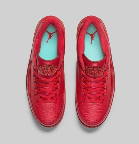 Jordan Chicago 2 Black Retro Low Nike Ii Air 832819 Gym Tamaño 15 2016 606 Rojo qpExHO1wE