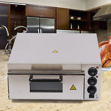 Single Layers Pizza Oven Electric Pizza Cooker Bread Toaster Fire Stone Oven