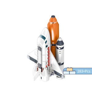 283pcs-Space-Shuttle-Model-Building-Lepining-Bricks