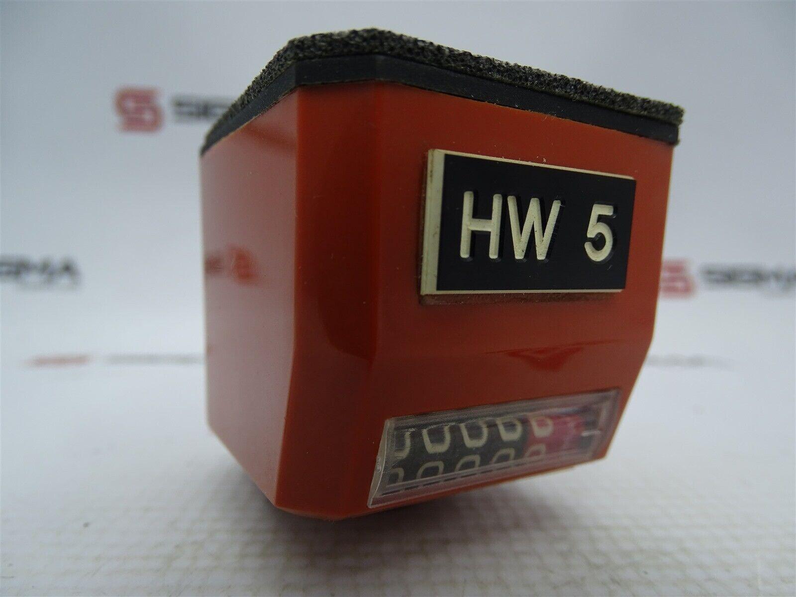 Elesa Clayton DD52-AN-0001.0-D-AR Mechanical Position Indicator Counter