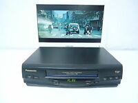 Panasonic Omnivision Pv-v4520 Vhs Vcr Video Cassette Player Recorder Stereo Hifi