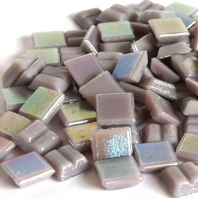 203 Vitreous Irridescent Mosaic Tiles 10mm - Various Colours