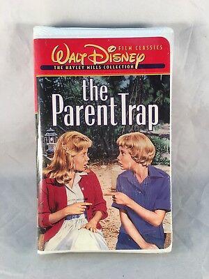 The Parent Trap Vhs 1997 Hayley Mills Collection Walt Disney 786936028607 Ebay