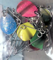 Beetle Spin - Jig Spinners 10 Pack Colorado Blade Size 0 Dif Colors Usa Made