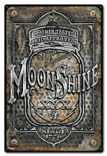 Moonshine Jar Metal Sign - Hand Made in the USA with American Steel