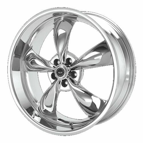 "American Racing 17x7 AR605 Torq Thrust M Wheel Chrome 5x4.5 5x114.3 0mm 4.00/"""