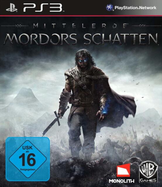Mittelerde: Mordors Schatten -- Pyramide Software PS3 *gut