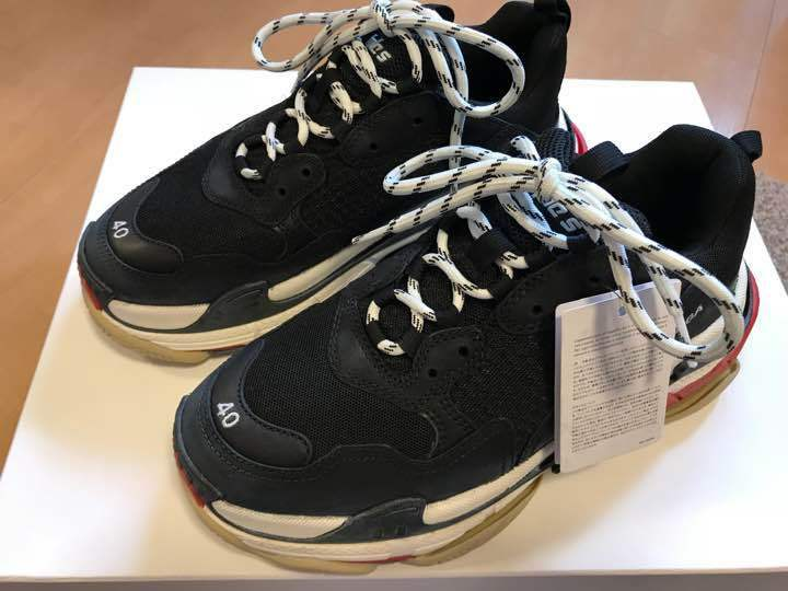 BALENCIAGA Balenciaga triple s triple es from japan (4482