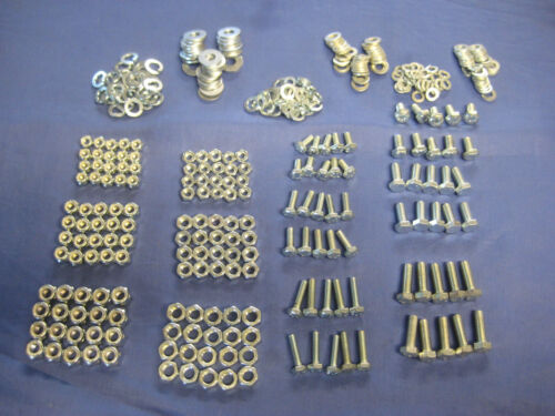 RELIANT SCIMITAR REBEL ROBIN  360 PIECE UNF NUT BOLT /& WASHER KIT Free delivery
