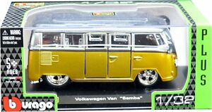 VW-CAMPER-VAN-BUS-T1-1-32-Car-Metal-Model-Die-Cast-Models-Diecast-Volkswagen