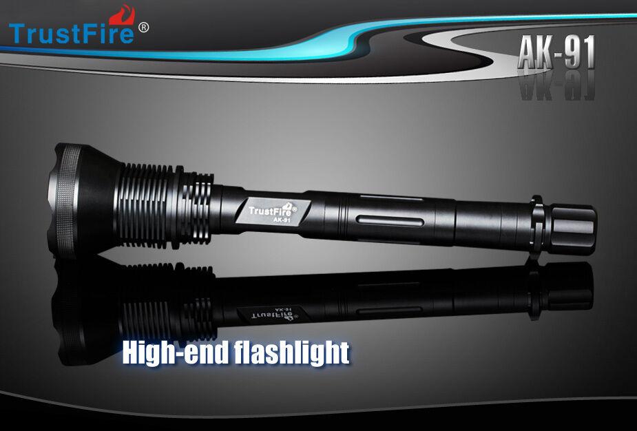 TrustFire AK-91 18000LM 15CREE 5 XM-L2 T6 LED 5 15CREE Mode Camping Flashlight Torch 61bb4a