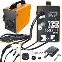 Mig 130 Welder Flux Core Wire Automatic Feed Welding Machine Gas-less 110v/60hz