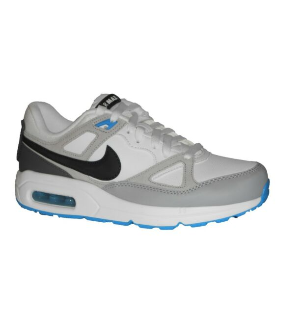 311a2d5b84f2 NIKE AIR MAX SPAN MENS TRAINER RUNNING SHOE WHITE BLACK GREY SIZE 78.5 9 10  NEW