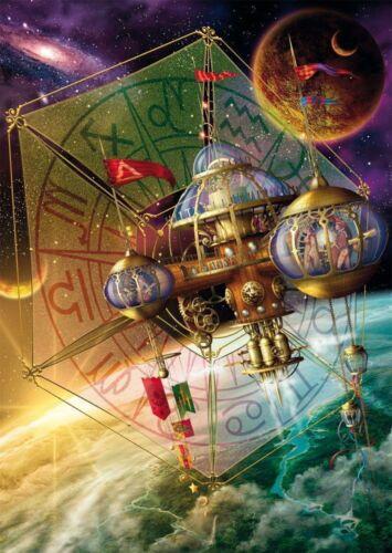 Station spatiale B//W cross stitch chart Achetez 1 obtenez 1 moitié prix
