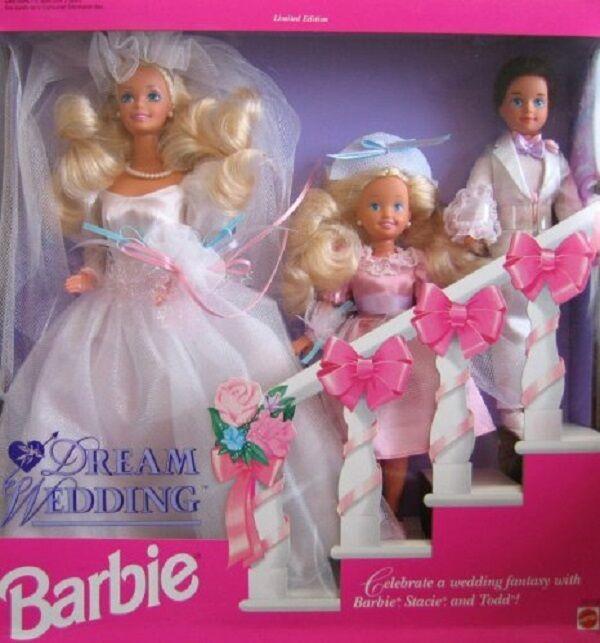 Barbie Boda De Edición Limitada Todd Y Stacie 1993