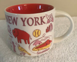 STARBUCKS MUG NEW YORK - BEEN THERE SERIES ACROSS THE GLOBE COLLECTION